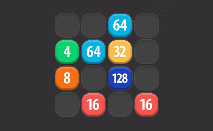 2048 Merge Game