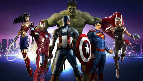 Find Them: Superheroes