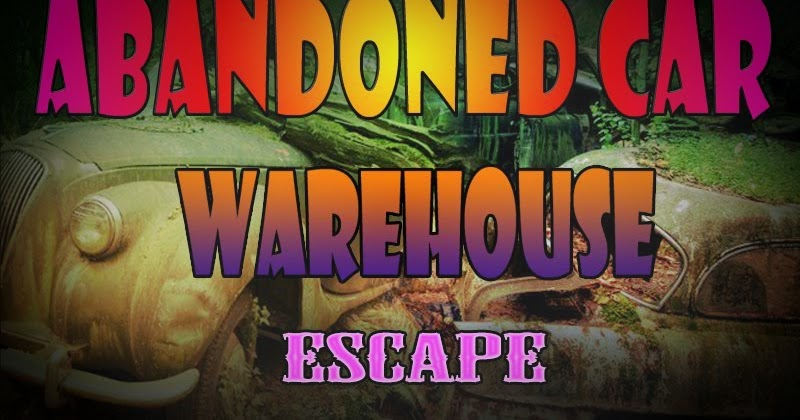8b Abondoned Car Warehouse Escape