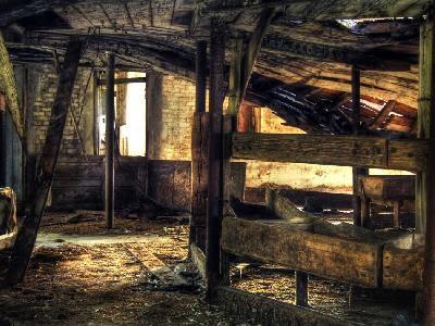 Abandoned Ancient Barn