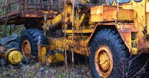 Abandoned Heavy Equipment Escape