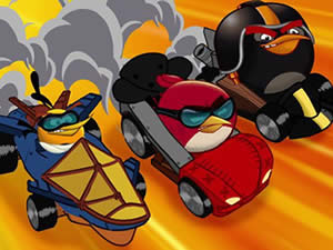 Angry Birds Racers Memory