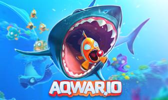 Aqwario Play Aqwar.io multiplayer Fish battle online game