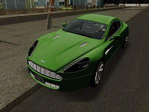 Aston Martin Hidden Wheels