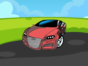 Audi Cartoon Puzzle