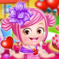 Baby Hazel Valentine Day dress up