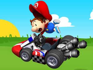 Baby Mario Kart Puzzle