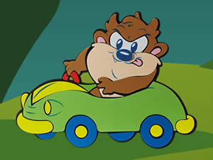 Baby Taz Car Puzzle