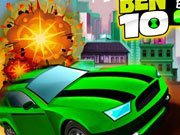 Ben 10 Bolt Car Game