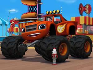 Blaze Monster Truck Puzzle