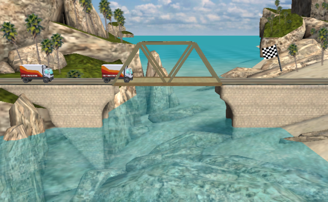 Bridge Constructor - Play on Crazy Games