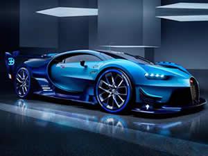 Bugatti Chiron Puzzle
