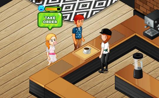 Cafe Panic Game