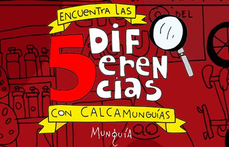 CalcaMunguias - 5 Differents