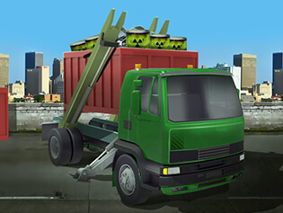 Cargo Carbage Truck Game