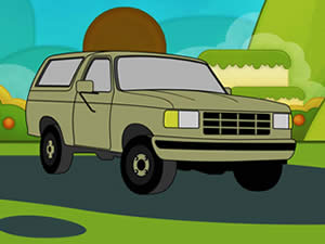 Chevrolet Cartoon