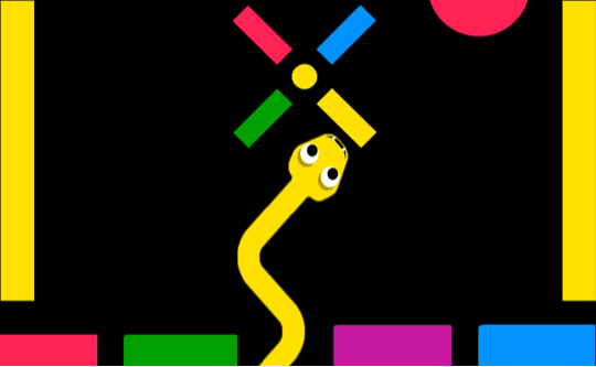 Color Snake Game