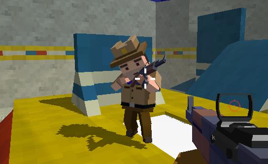Crazy Pixel Combat Squad 3D