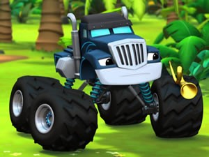Crusher Monster Machine Jigsaw - Truck Games - Online Truck and Monster Truck Games