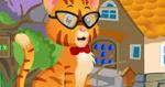 Cute Hipster Cat Rescue Escape