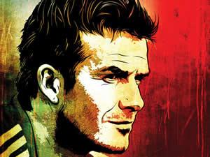 David Beckham Puzzle