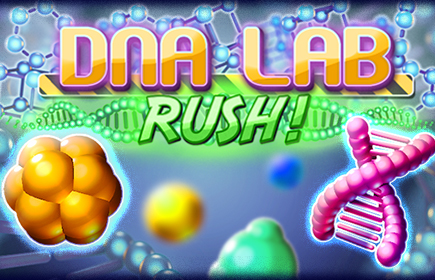 DNA Lab Rush | Match 3 Games