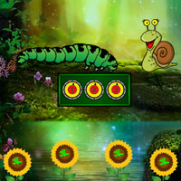 Escape Game Save The Caterpillar - Escape Games