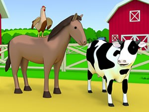 Farm Animals Memory