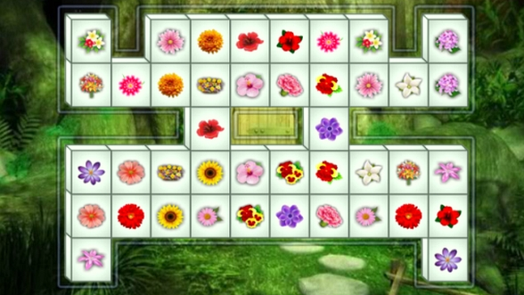 Flower Mahjong Deluxe - Net Freedom Games