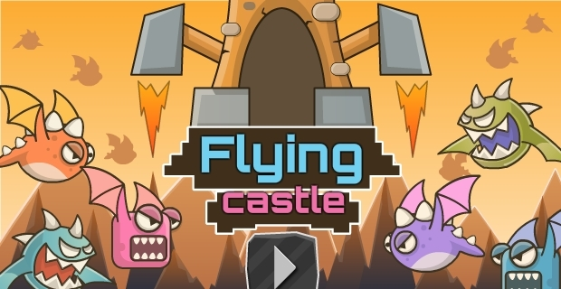 Flying Castle - on Armor Games