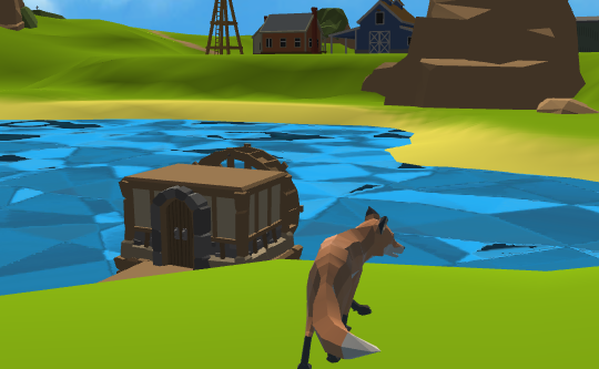 Fox Simulator 3D Game