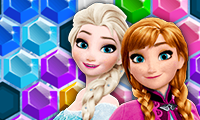 Frozen Elsa: Hex Puzzle