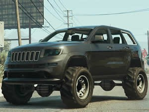 Grand Cherokee Jigsaw