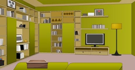 Greenish House Escape