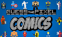 Guess the Pixel: Comics!