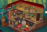 Halloween Doll House Escape