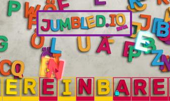 Jumbledio game