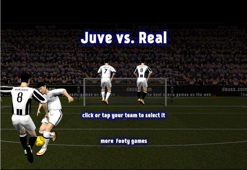 Juve vs Real - The Best Douchebag Games