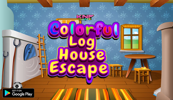 Knf Colorful Log House Escape - knfgame