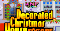 Knf Decorated Christmas House Escape