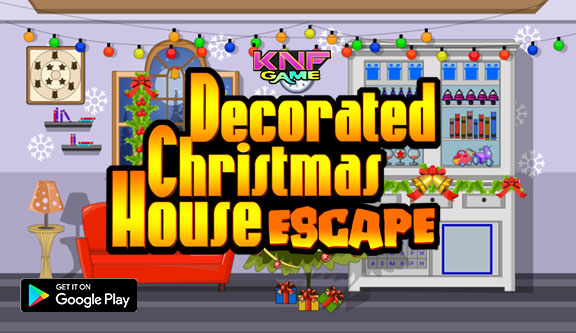 Knf Decorated Christmas House Escape - knfgame