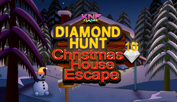 Knf Diamond Hunt 10 Christmas House Escape - knfgame