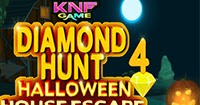 Knf Diamond Hunt 4 - Halloween House Escape