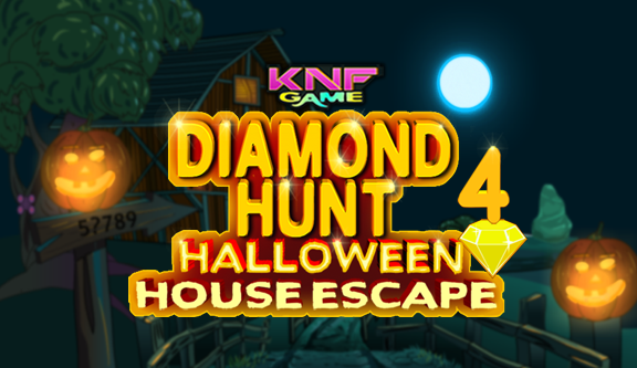 Knf Diamond Hunt 4 : Halloween House Escape - knfgame