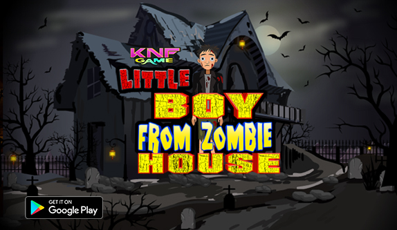 KNF Escape Little BOY from Zombie HOUSE - knfgame