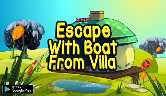 Knf Escape With Boat From Villa - Escape Games