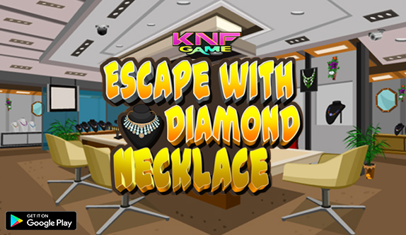 Knf Escape with Diamond Necklace - knfgame