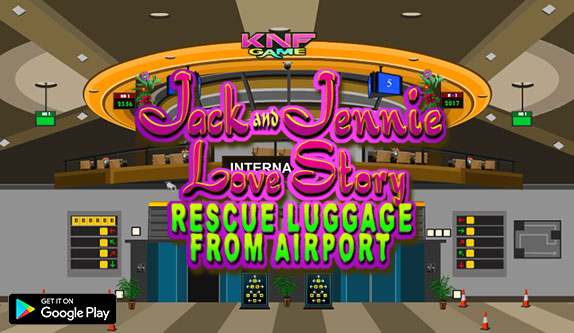 Knf Jack Jennie Love Story - Rescue Luggage From Airport - knfgame