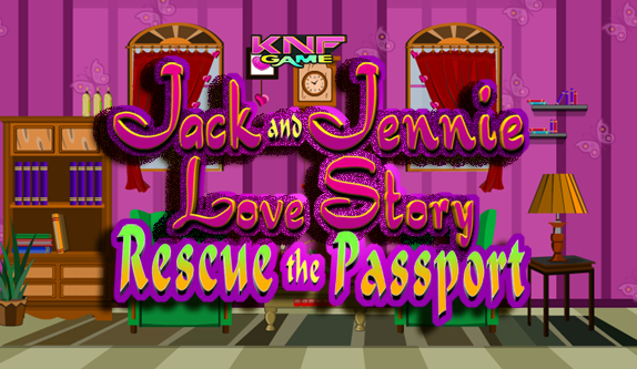Knf Jack Jennie Love Story - Rescue the Passport - knfgame