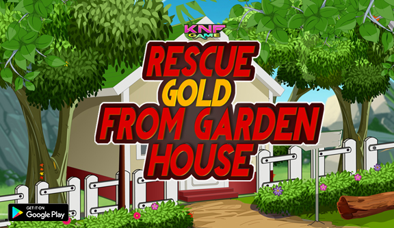 Knf Rescue Gold From Garden House - Escape Games